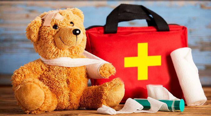 Primeros auxilios en bebés y niños pequeños