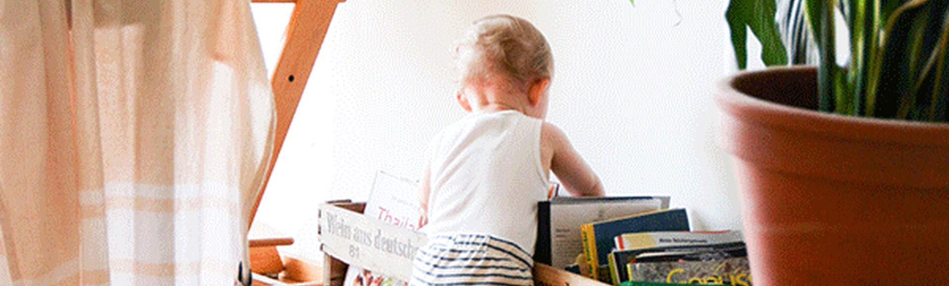 Beneficios de la lectura a una edad temprana