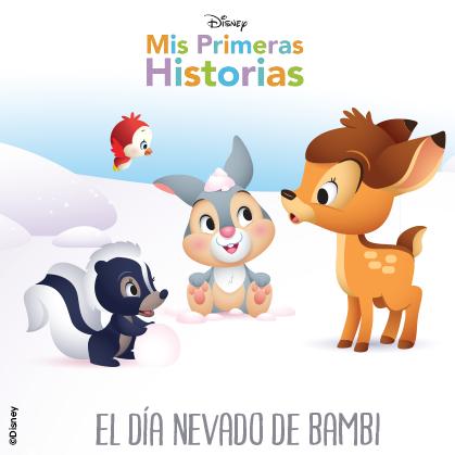 mis primeras historias el día nevado de bambi