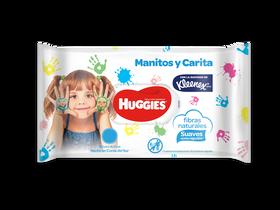 TOALLITAS HUMEDAS MANITOS Y CARITA