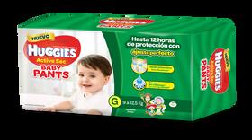 PAÑAL HUGGIES ACTIVE SEC BABY PANTS G