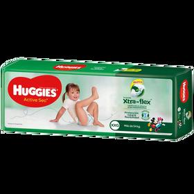 PAÑAL HUGGIES ACTIVE SEC Xtra Flex XXG