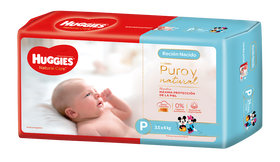 PAÑAL HUGGIES NATURAL Care P