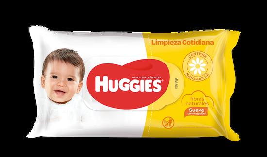 TOALLITAS HUMEDAS HUGGIES LIMPIEZA COTIDIANA