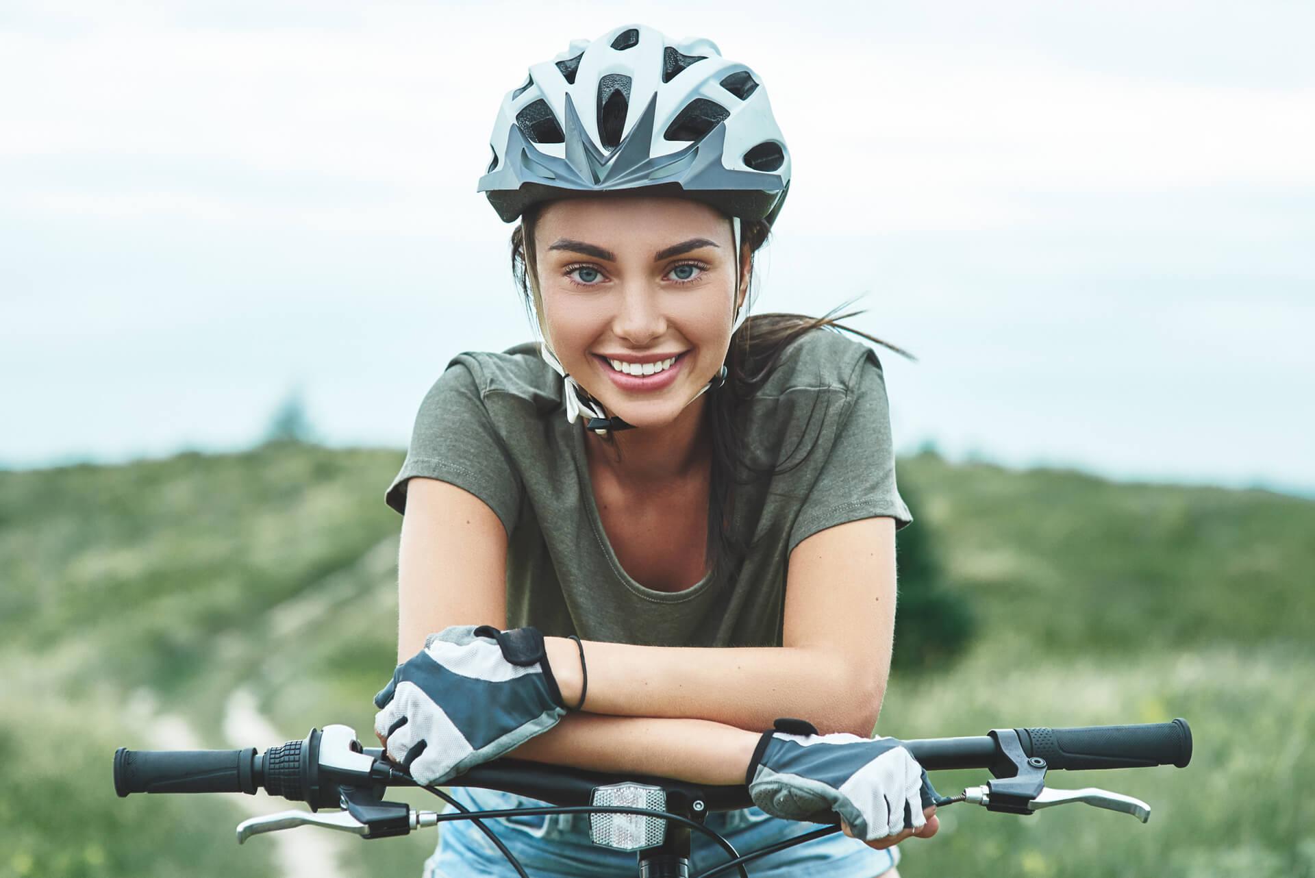 Tonifica tus músculos en bici